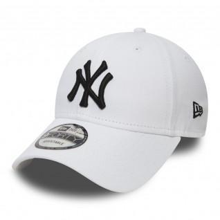 Cap New Era wesentlichen 9 vierzig und weiß New York Yankees