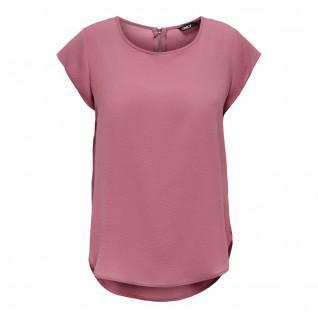 Damen-T-Shirt Nur kurze Ärmel Vic solid