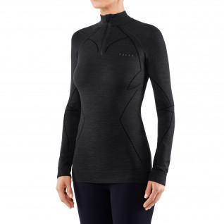 Damen Langarm-T-Shirt Falke Wool-Tech