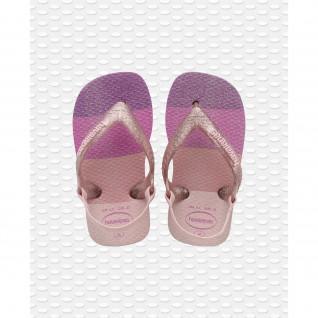 Havaianas Baby Palette Glow Flip Flops