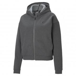 Puma Zug Favorit Full Zip Sweatshirt Frau