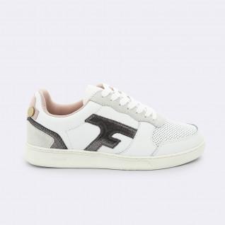 Faguo Hasel Leder Wildleder Schuhe für Frauen