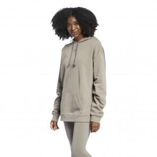 Sweatshirt mit Kapuze Frau Reebok Classics Natural Oversized