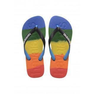 Havaianas Flip Flops Top Logomania Multicolor Regenbogen